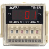 DH48S-S 220v adjustable time relay delay cycled off delay DH48S-1Z 2Z