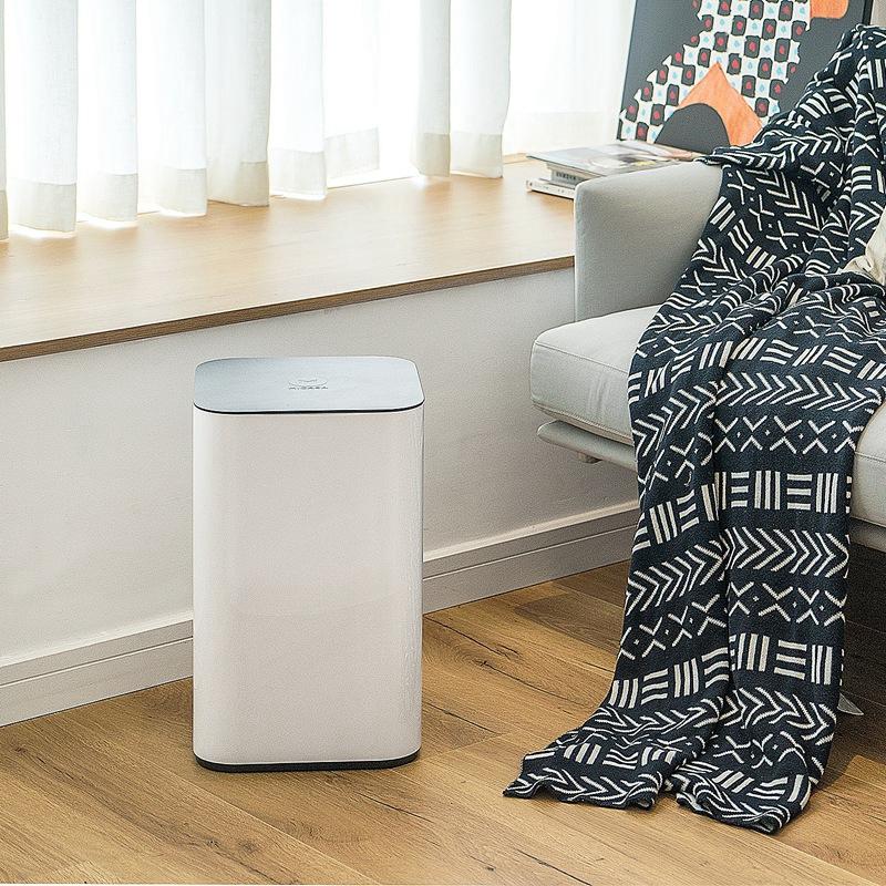 踢踢桶组合家庭装智能感应带盖北欧简约创意家用厨房客厅垃圾桶