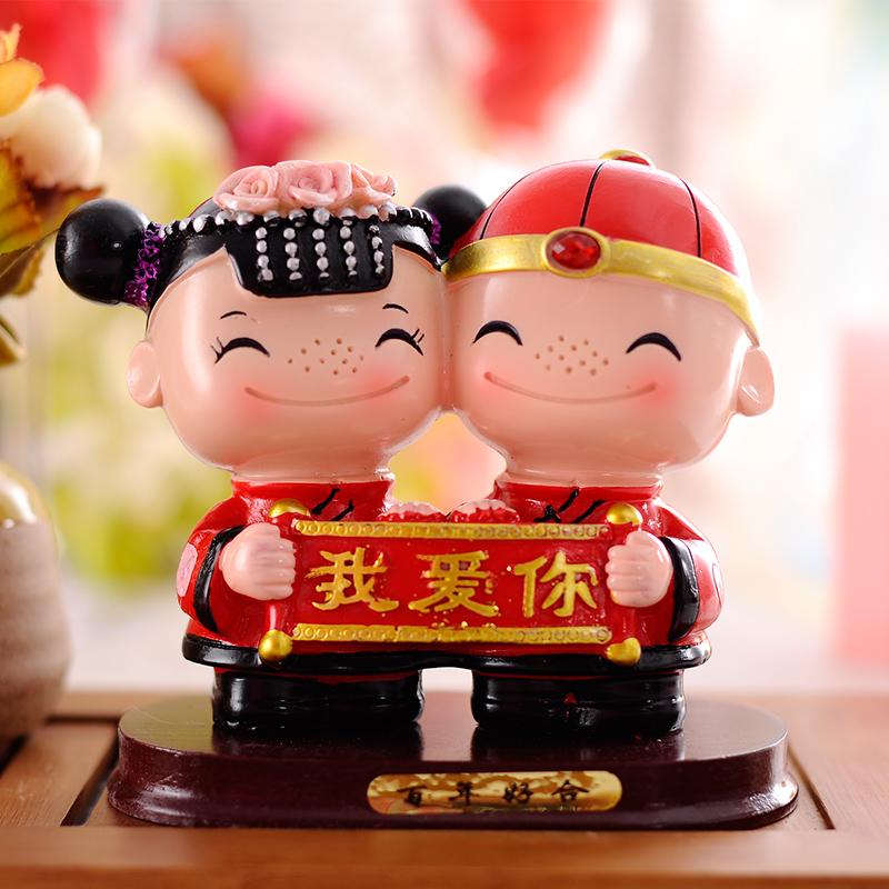 新婚庆实用礼品送朋友闺蜜新婚房摆件 家居装饰品 结婚创意礼物