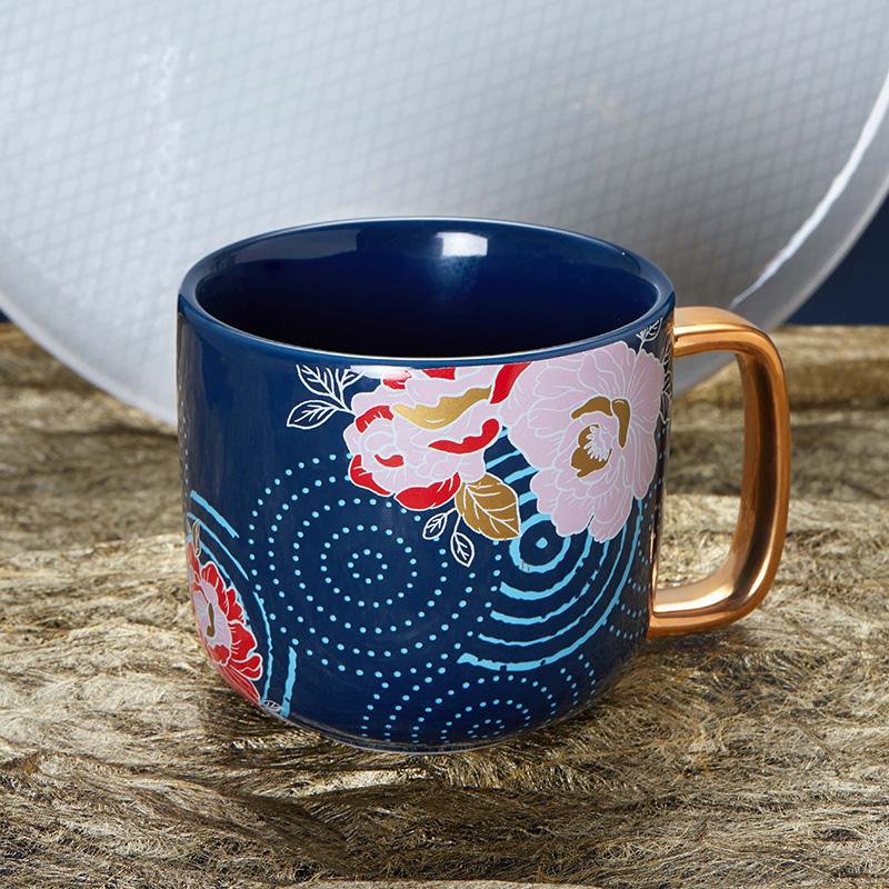 共禾京品中国风情侣水杯,国潮办公室礼物