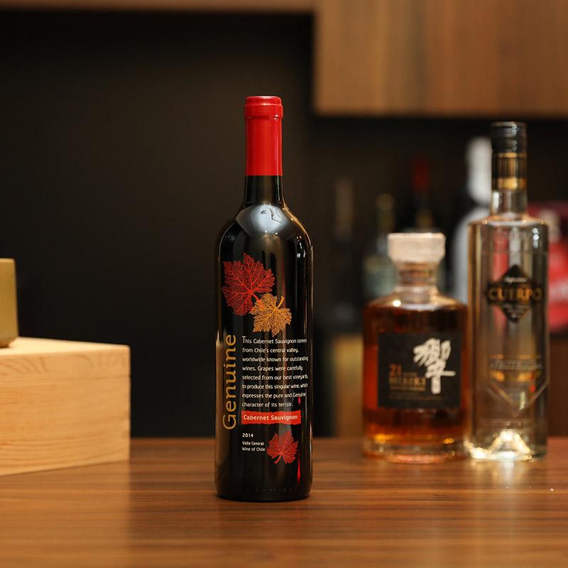 赤霞珠干红葡萄酒 750ml 安森推荐 起泡酒 智利原瓶进口红酒