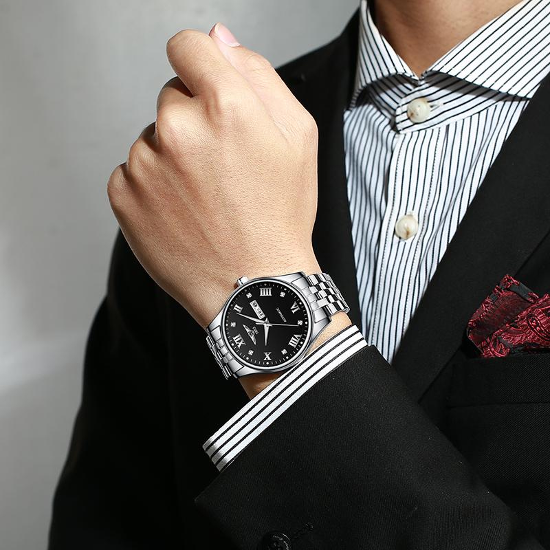 年新款瑞士正品防水男士手表商务十大品牌全自动机械名牌男表 2020