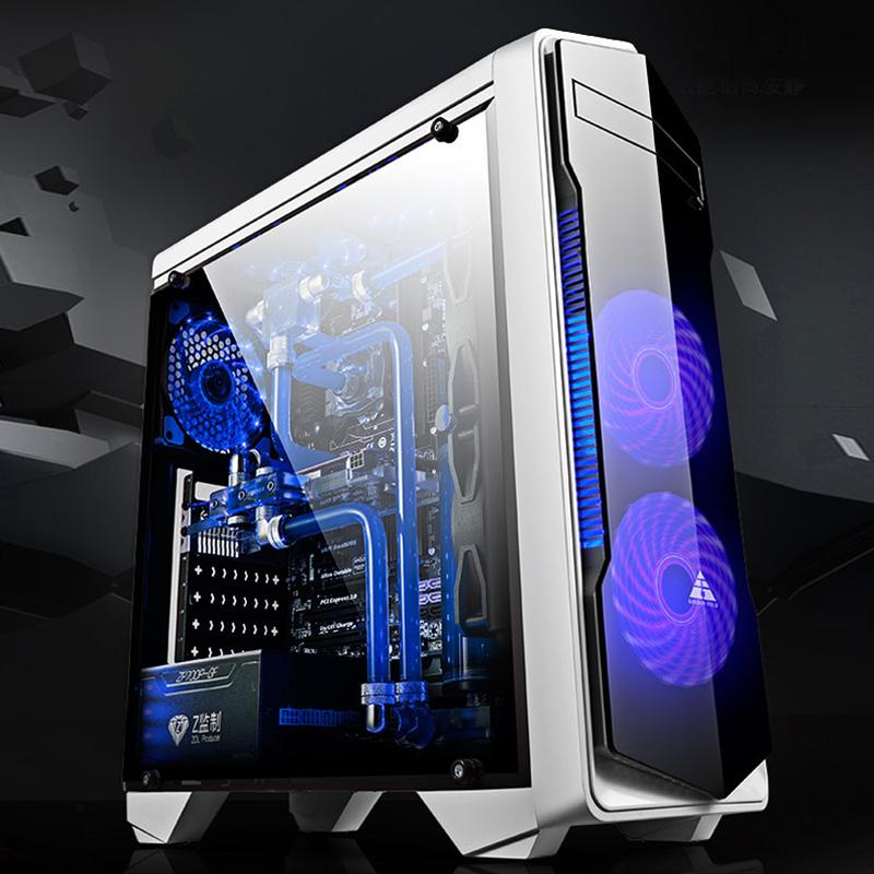 组装主机电脑游戏显示器 DIY 四核台式电脑全套兼容机 I3I5 办公酷睿