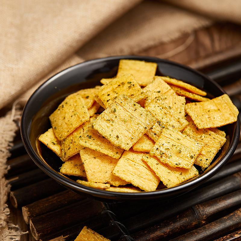 新一代锅巴手工金荞酥15g*3包荞麦玉米大豆粗粮营养锅巴