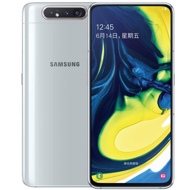 A60 手 4G 全面屏智能 太空黑 GA8050 SM A80 Galaxy 三星 Samsung 期免息 6 小时达 2 上海外环内免费闪送