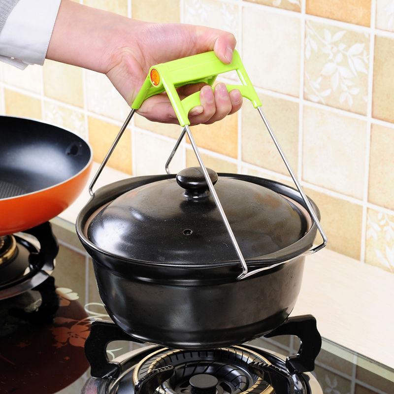两件套家用多用途不锈钢防滑蒸菜夹子厨房用品防烫夹取碗取盘提盘 No.3