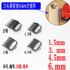 Wall gradient electric clippers universal limit comb 1.5mm 4.5mm caliper hair clipper electric clipper clipper card set