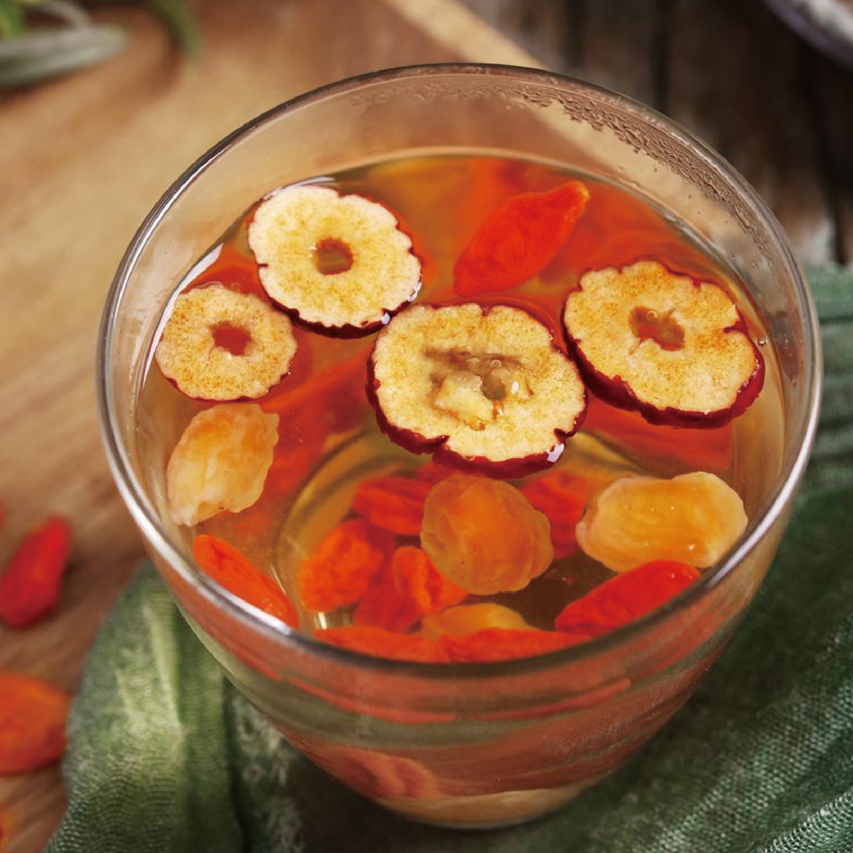 新疆干红枣泡茶片泡水喝特级山红枣干可搭荷叶湿气果茶花草茶茶叶