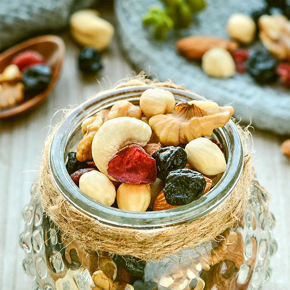 750g 包孕妇干果仁综合零食礼盒 30 沃隆每日坚果大礼包组合混合坚果