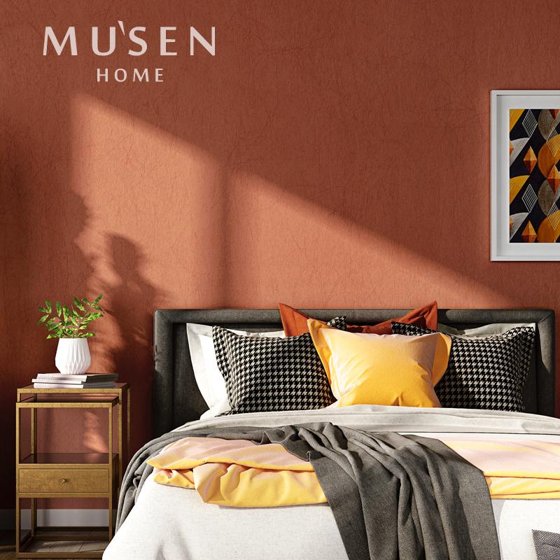 视背景墙纯色壁纸家用
