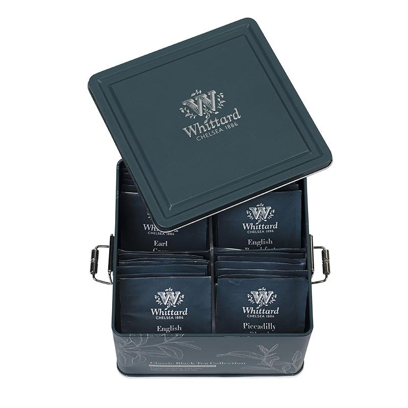 英式进口伯爵玫瑰袋泡茶冷泡茶包礼盒 英国经典红茶礼盒 Whittard