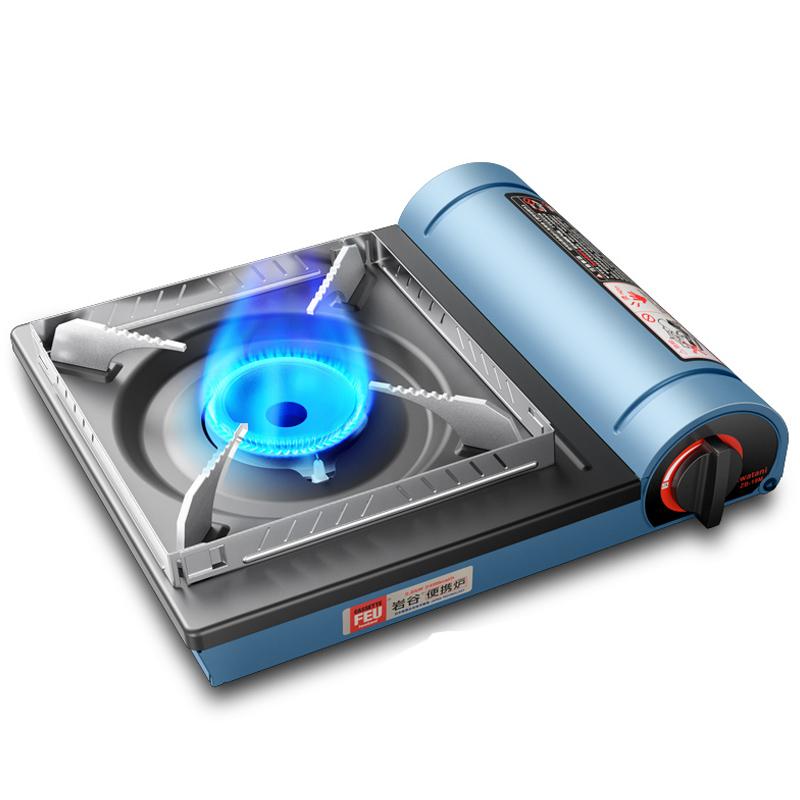 岩谷卡式炉便携式燃气炉卡斯卡磁瓦斯炉家用野炊户外炉具火锅炉子