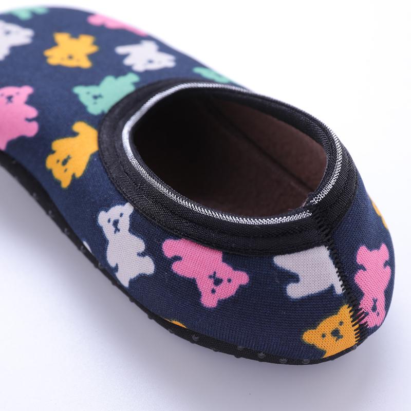 早教地板袜儿童宝宝防滑底袜套大人男女秋冬季加厚加绒学步鞋袜子