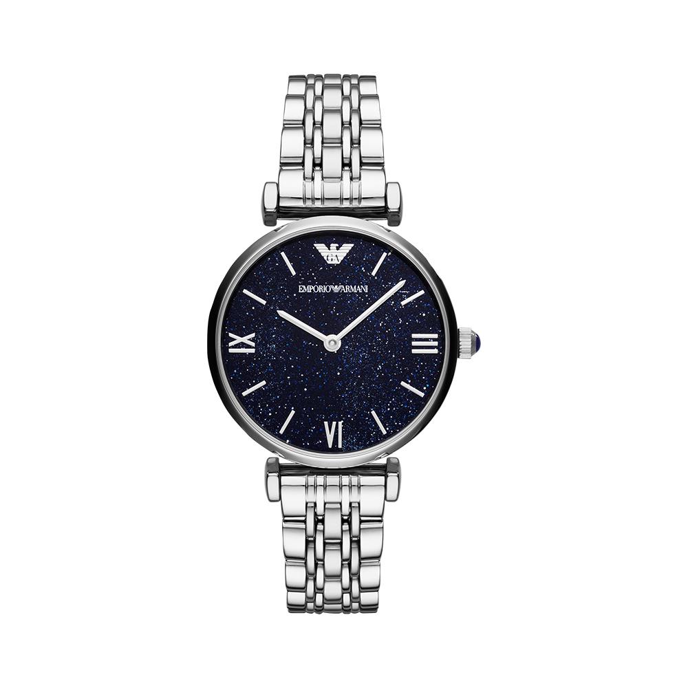 【直营】Armani阿玛尼星空石英女表手表镶钻时尚正品钢带AR11091