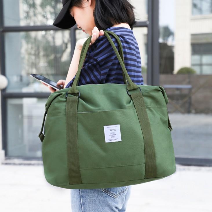 防水旅行袋子手提行李包单肩短途帆布旅行包女大容量待产