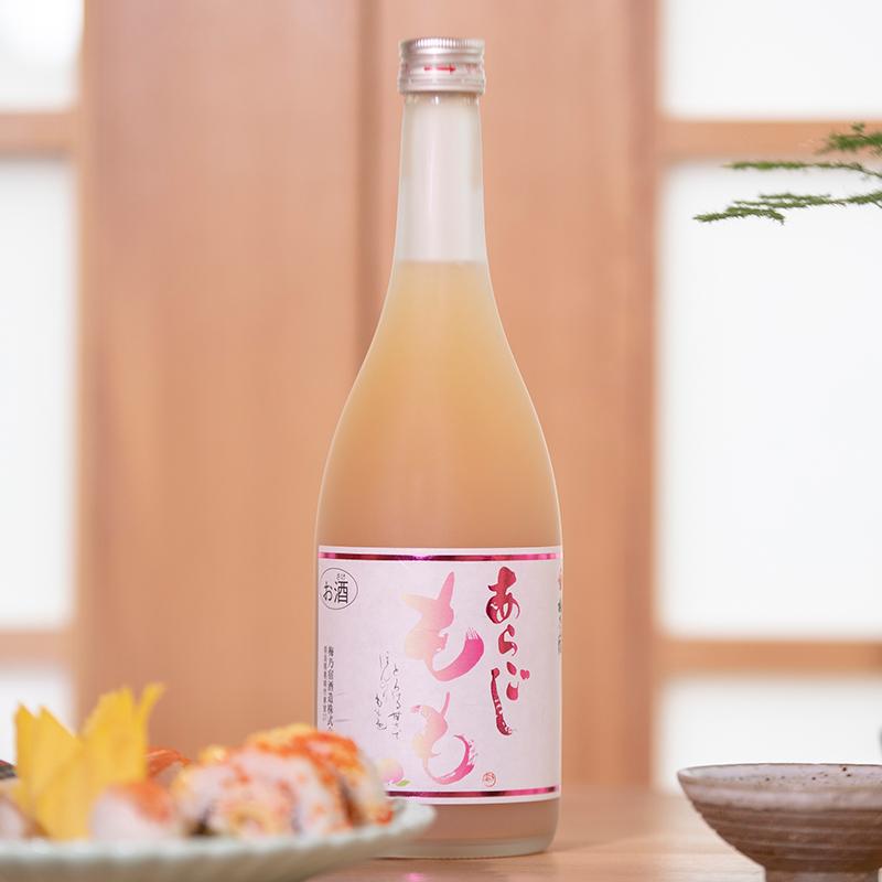 720ml 日本原装进口桃酒梅子酒女士果酒甜酒日本梅酒 梅乃宿桃子酒