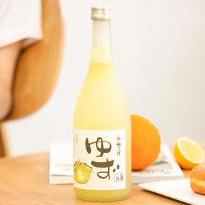 梅乃宿日本原装进口柚子酒,200元左右送女生闺蜜礼物