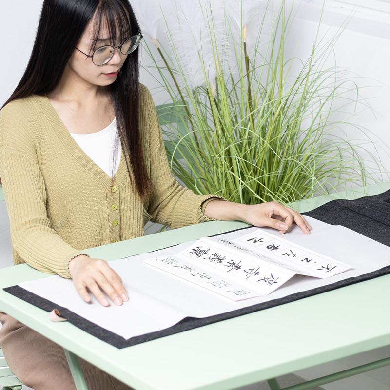 初学者入门套装砚台毛笔字帖书法垫