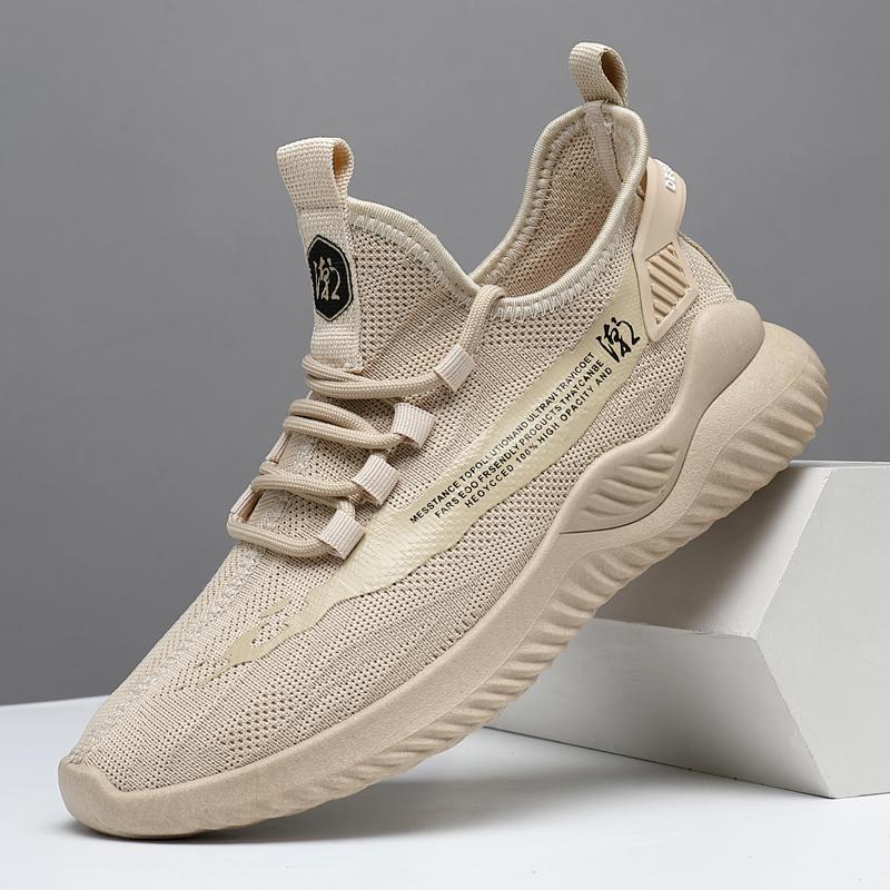 2020夏季新款男鞋透气休闲运动男士跑步潮鞋百搭网鞋潮流网面板鞋