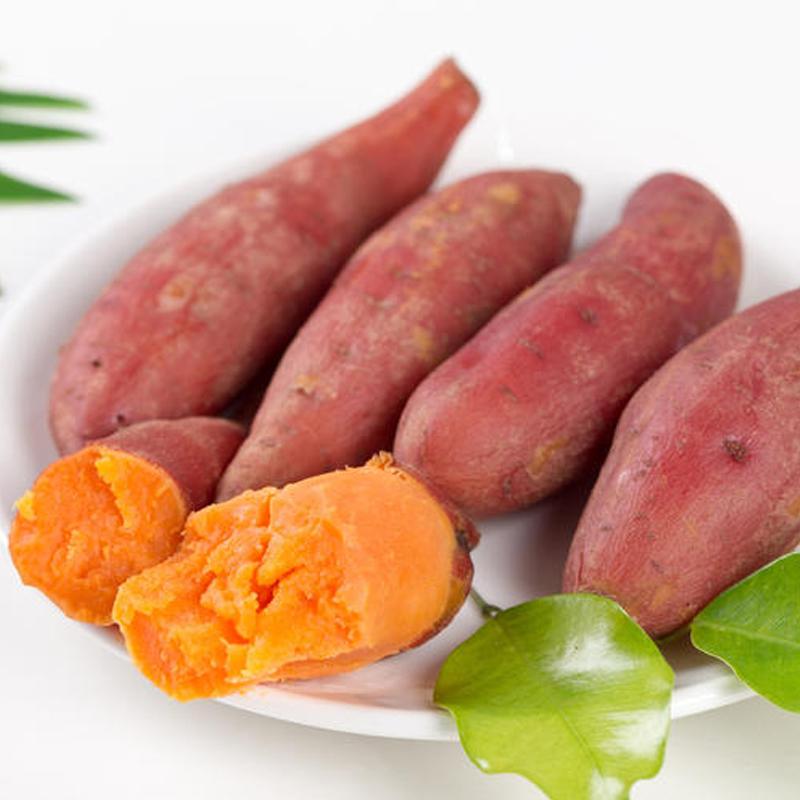 新鲜板栗红薯5斤
