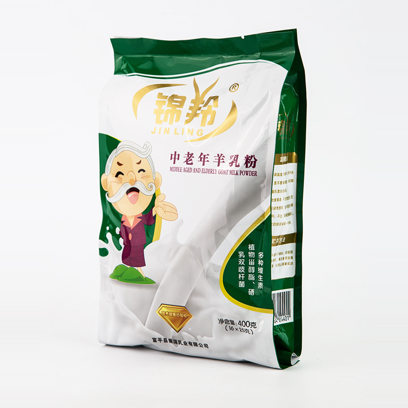 陕西富平锦羚羊奶粉中老年人无蔗糖富硒高钙益生菌纯羊奶粉成人