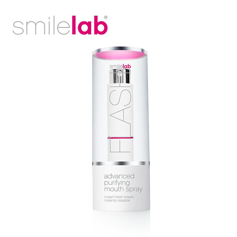 进口Smilelab口腔清新喷雾口气清新剂女便携持久型口喷约会神器