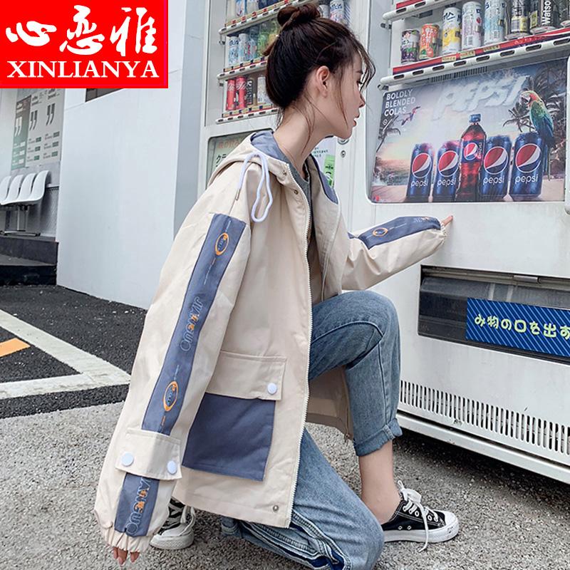 学生韩版原宿宽松百搭夹克上衣