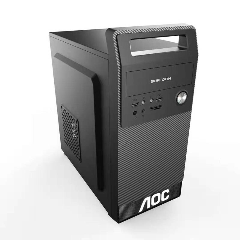 渲染 3D 辦公臺式電腦主機雕刻機房產中介臺式電腦全套組裝機吃雞游戲設計圖形工作站影視視頻剪輯 i5 酷睿 i7 AOC