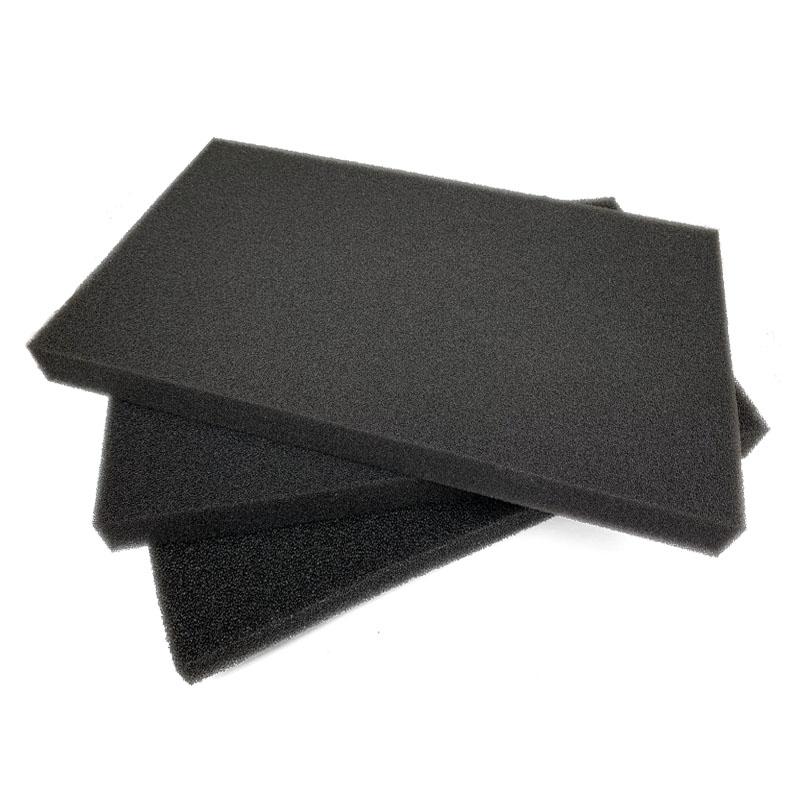 鱼缸生化棉黑棉水族箱生化滤材鱼缸过滤棉黑色海绵加厚培菌净水棉
