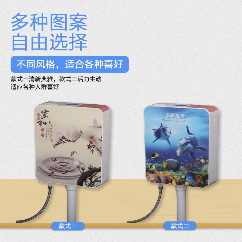 厕所马桶蹲便器节能卫生间加厚冲水箱蹲便家用抽水挂墙式
