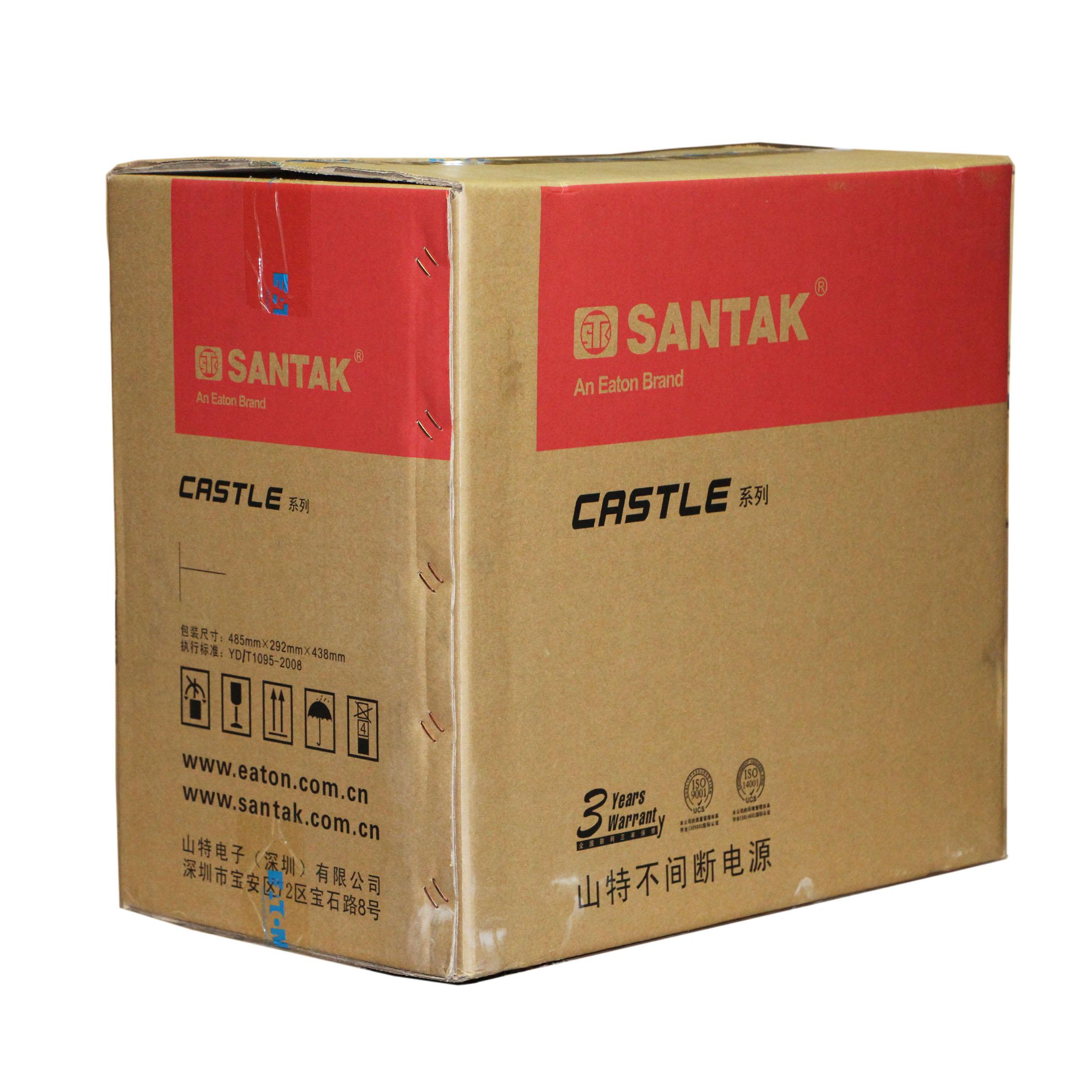 深圳山特C3K 3KVA UPS不间断电源 SANTAK 内置电池稳压电源包邮