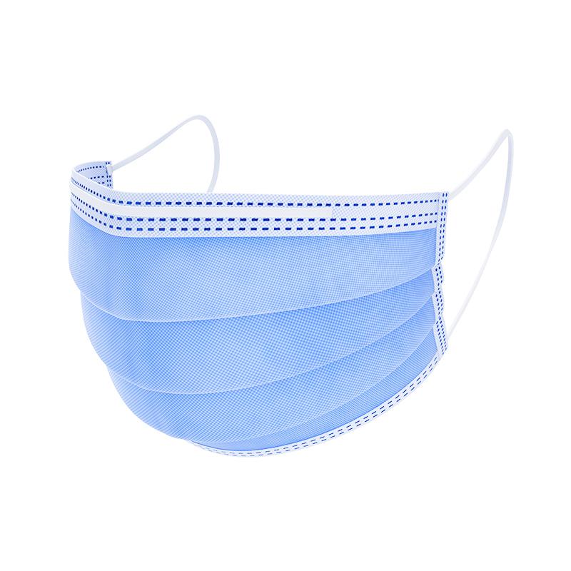 现货医用外科口罩一次性医疗口罩三层防雾霾飞沫透气医生护士夏季