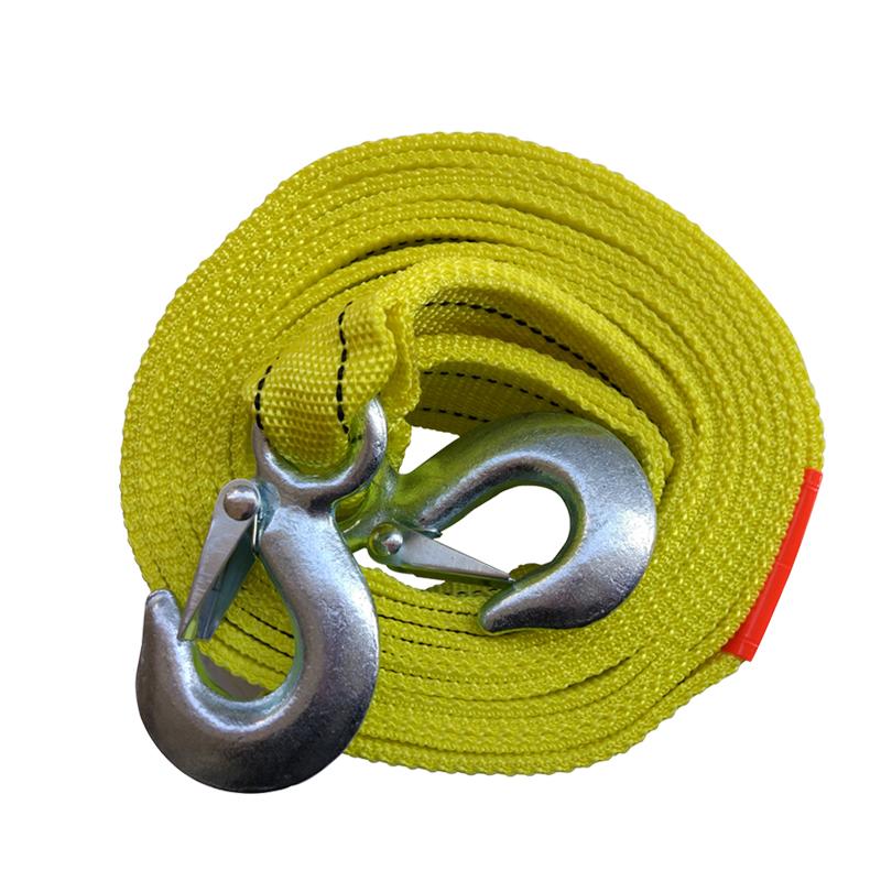 车志酷 强力汽车拖车绳拖车带 汽车用品5吨牵引绳 车用拖车绳4米