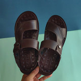 2020 new Vietnamese middle-aged boy father beach non-slip sandals men spring and summer leisure travel dual-use tide