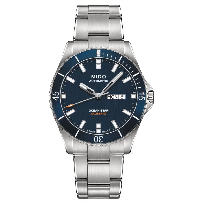 美度领航者系列户外休息运动潜水M026.430.11.041.00机械男表