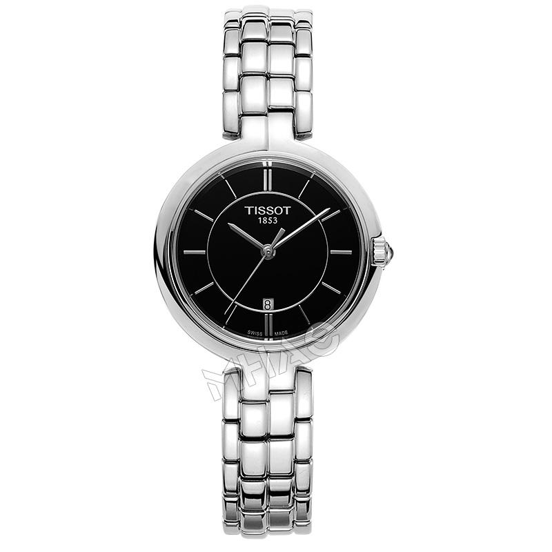 瑞士天梭弗拉明戈女士腕表时尚潮流简约石英表T094.210.11.051.00