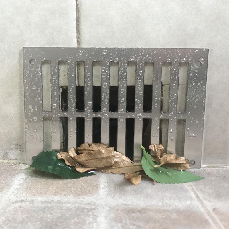不銹鋼篦子面板蓋子過濾網擋水側排墻排地漏地排墻面排水網格 304