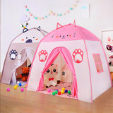 Children's indoor princess tent castle baby girl sleeping beds artifact home game room secret base