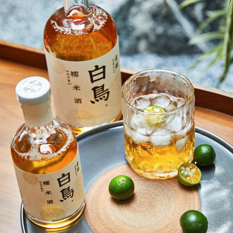 白鸟米酒青梅口味青梅酒水果酒女士低度甜酒醪糟米酿糯米发酵礼盒