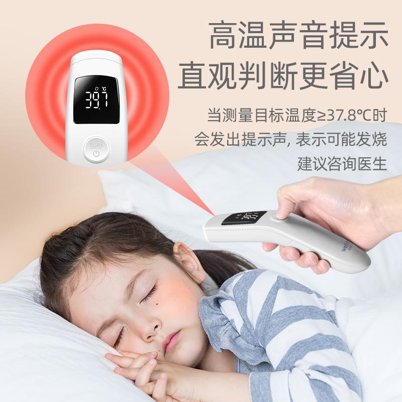 维德医疗体温枪红外线电子体温计家用医专用高精度婴儿童耳额温枪主图