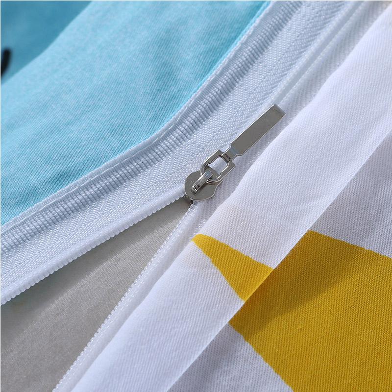 蔓妮诗大学生宿舍被套床单枕套全棉斜纹三件套儿童简约床上用品