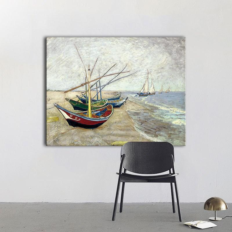 梵高星空沙发背景墙客厅抽象画油画