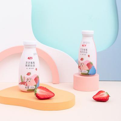 好源芝士草莓牛奶12瓶整箱网红果味营养早餐奶含乳饮料特价甜牛奶