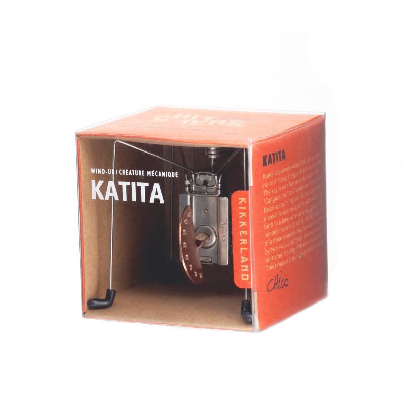 午夜蜘蛛发条手动链仿真独特创意造型 KATITA Kikkerland 美国