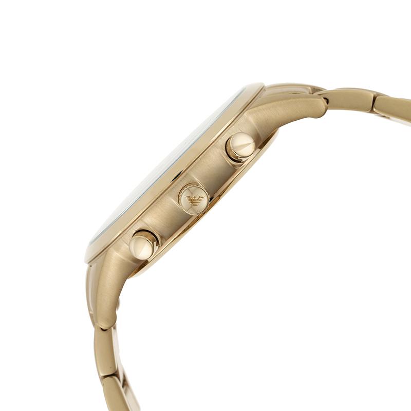 新品阿玛尼石英男士腕表商务风范多功能表盘不锈钢正品AR11332