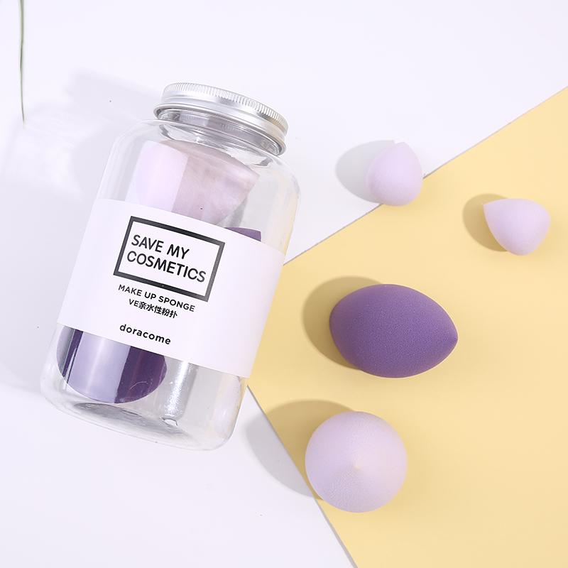 肖柠檬 哆可美妆蛋巨软超软迷你化妆蛋上妆绵粉扑彩妆蛋
