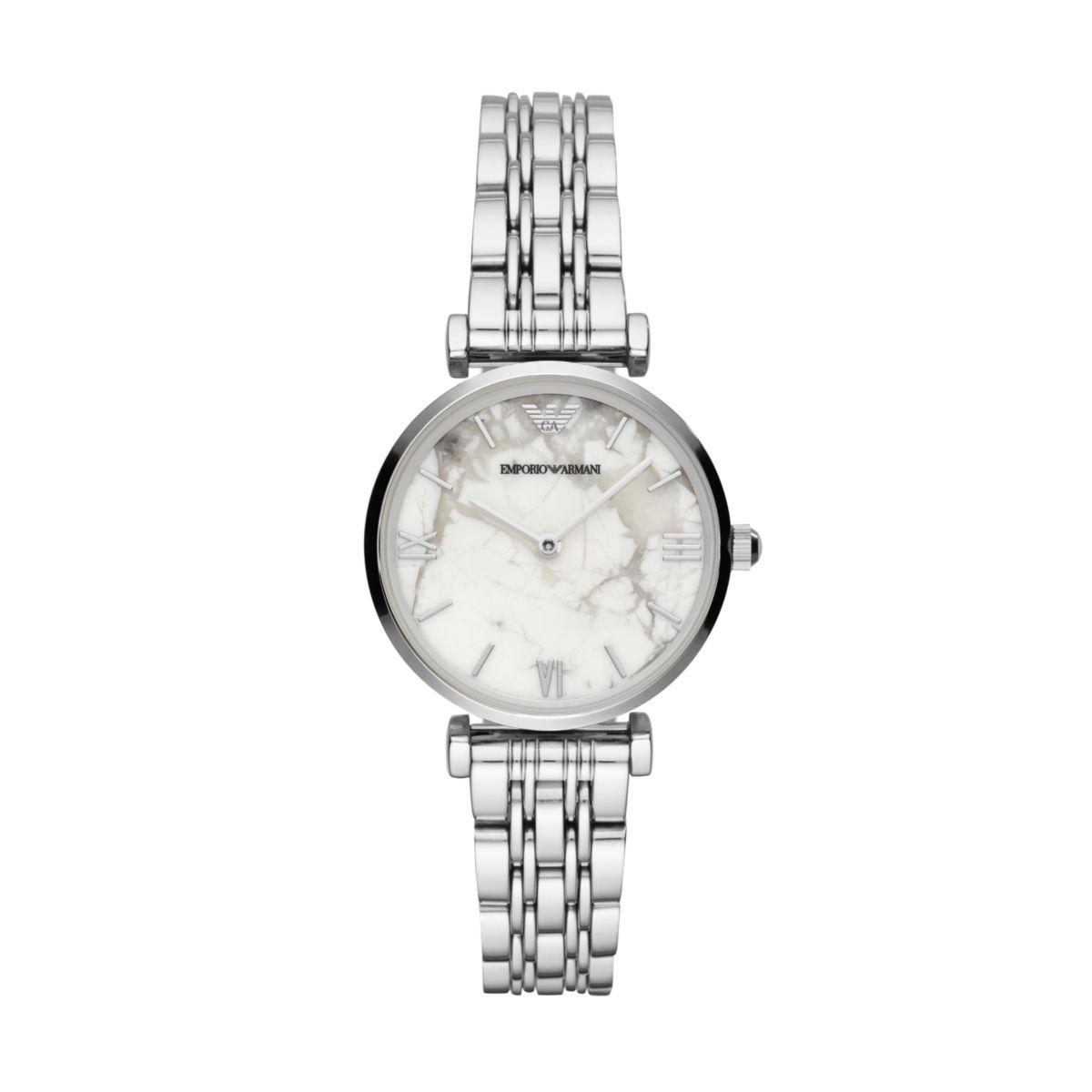 Emporio Armani阿玛尼手表钢带经典时尚休闲石英女士腕表AR11170