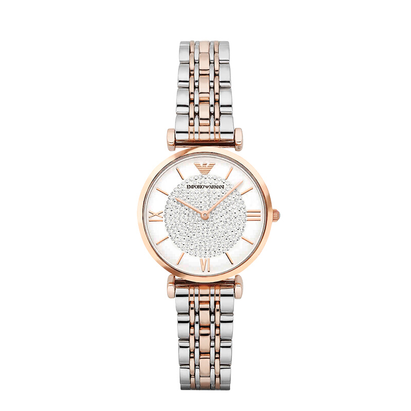 明星同款Armani阿玛尼满天星摩天轮星空手表女欧美手表AR1926正品