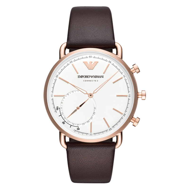 阿玛尼Armani手表商务欧美智能腕表男士表石英不锈钢带ART3029