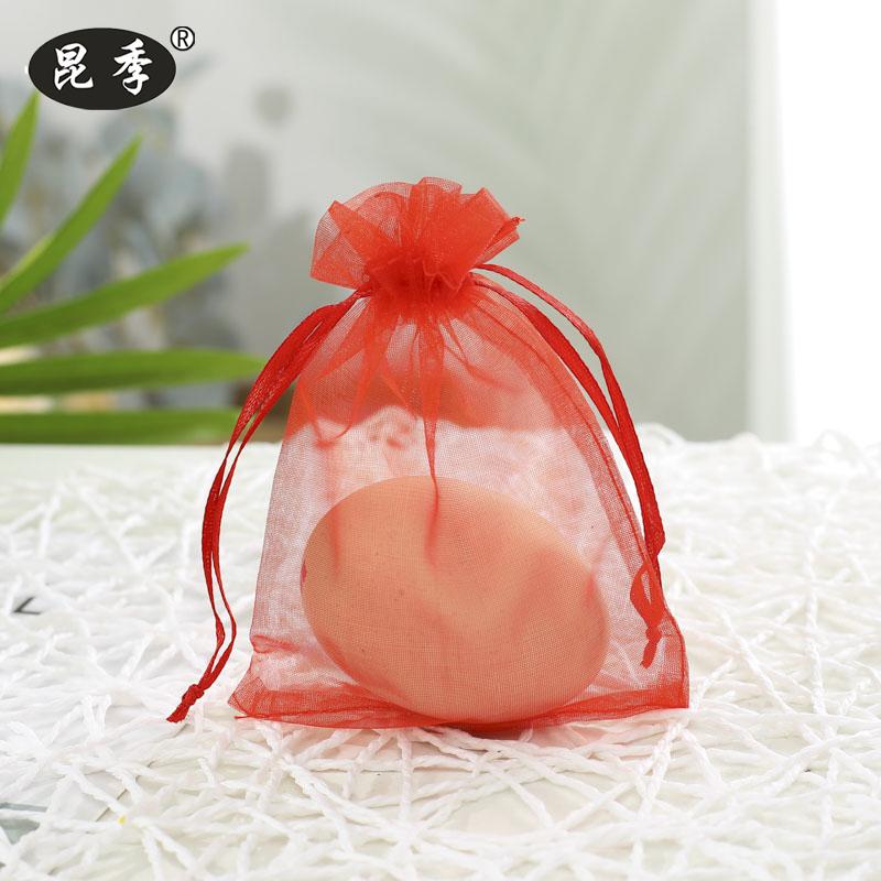 喜糖袋珍珠纱袋糖果礼盒束口袋首饰品包装袋化妆品试用装礼品袋子
